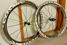 Mavic Cosmic Sl 700c Carbon/Aluminum Clincher Wheelset Shimano/Sram 10/11 Speed
