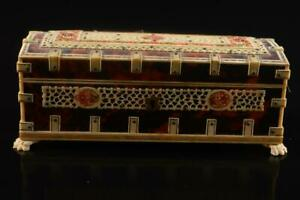 #861: XF Japanese Bone CONTAINER Accessories Case Box Jewelry Box container