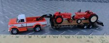 1/64 CUSTOM CHEVROLET c60 ALLIS CHALMERS dealer 5th wheel TRUCK trailer ERTL dcp