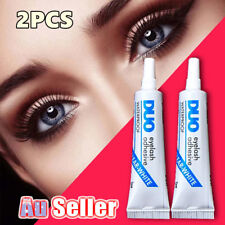 2PCS DUO Waterproof Clear White False Eyelashes Makeup Adhesive Eye Lash Glue