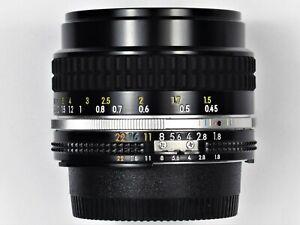 * MINT * Nikon NIKKOR 50mm F1.8 Ai-S For F3 FM2 FE2 F3HP F3T F2 FM3A FE FM