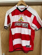 Doncaster Rovers Home Football Shirt Soccer Jersey Size: Xlb
