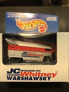 1996 Hot Wheels JC Whitney Volkswagen VW Drag Bus Warshawsky Ltd Edition