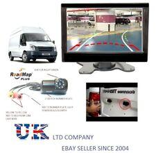 Cámara De Marcha Atrás De Aparcamiento 7 pulgadas Monitor de fácil ajuste para Ford Transit