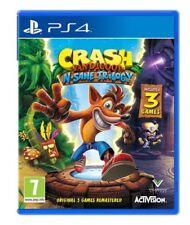 Crash Bandicoot: N Sane Trilogía (PS4 Juego) * muy Buen Estado *
