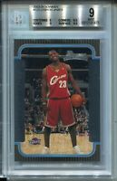 2003 Bowman Basketball #123 Lebron James Rookie Card RC Graded BGS MINT 9