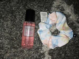 Victoria's secret 2.5fl oz hand spray & floral scrunchie NEW