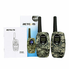 2pcs RT628  0.5W 8CH Camouflage license-free Walkie Talkie for Children Gifts