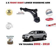 pour VW TOUAREG 2002-2010 ESSIEU AVANT DROIT BRAS DE SUSPENSION INFÉRIEUR