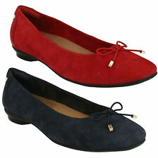 Clarks Suede Wide (E) Casual Shoes for Women
