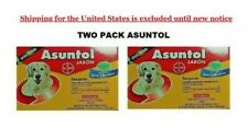 two pack asuntol dog soap anti flea and tick bolfo nice smell