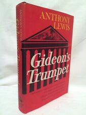 Anthony Lewis Gideon's Trumpet First Edition W Jacket VG!! 1964