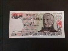 Argentina 10 Peso Argentinos UNC