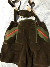 Traditional Child Lederhosen German size 98 / US 4T Hose Echt Leder