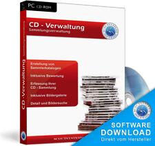 CD Sammlung,Plattensammlung,Musik und Hörspiele verwalten,archivieren Software