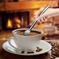 Edelstahl Tee trinken Yerba Mate Stroh Kürbis Bombilla Filter Löffel Geschenk