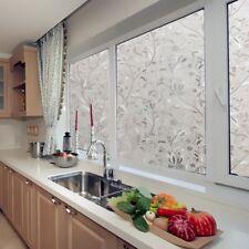 Frosted Selbstklebend Statische Fensterfolie Sichtschutzfolie Dekofolie 45x100cm