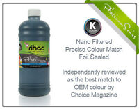 1 litre Black RIHAC Refill ink for Canon CLI-526 & PGI-525 Cartridge IP4850 CISS