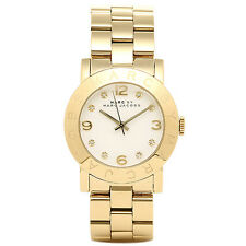 *BRAND NEW** MARC JACOBS LADIES GOLD MINI AMY WATCH MBM3056 WATCH RRP £199