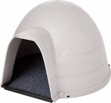 Cat Furniture Condo Dome House Kitty Carpet Shelter Freestanding Igloo Warm Gray