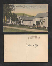 1910s THE BOYHOOD HOME OF PRESIDENT COOLIDGE PLYMOUTH VERMONT POSTCARD