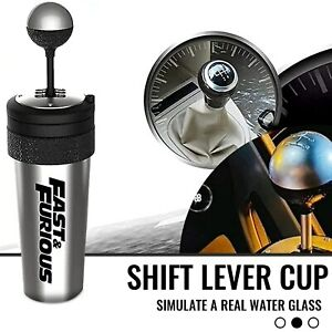 22oz Fast and Furious 9 Water Cup with Straw And Lid Rocker Gearshift Style Gift