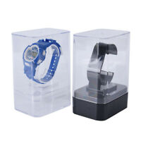 1x plastic watch display holder stand rack showcase tool stand case winder  BE