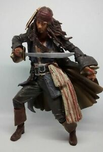 Pirates Of The Caribbean - Captain Jack Sparrow - Neca - Loose Action Figure