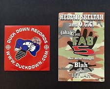 HELTAH SKELTAH, SEAN PRICE, DUCK DOWN, O.G.C., FAB 5, BOOT CAMP 90's PROMO PACK!