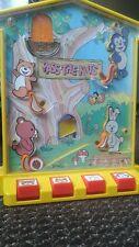 Lot de 2 FLIPPER jouet ancien vintage et musical Pass the Nuts par Tomy