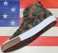 CONVERSE Chuck Taylor SAMPLE ALL-STAR HI Cordura Camo Green Brown [161429C] sz 9
