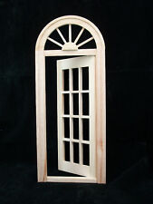 Playscale Door fashion doll  miniature dollhouse #96015  1/8 & 1/6 scale wood