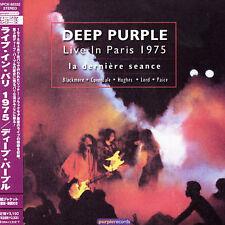 Deep Purple Live in Paris 1975 Japan Mini LP Dbl CD