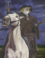 The Scarecrow Of Romney Marsh Art Print