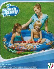 piscina gonfiabile per bambini piscinetta play pool mare montagna 137L 1,22MXH20