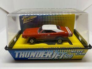 Johnny Lightning - 1969 Dodge Charger - Orange - HO Slot Car