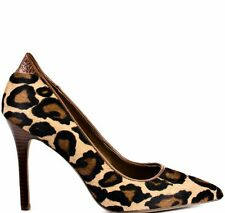 Sam Eldelman Portney Leopard Print Pointed Heels