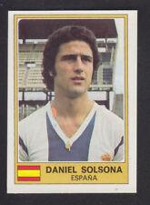 Panini - Euro Football 76/77 - # 92 Daniel Solsona - Spain