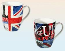 London 2 Porcelain Coffee Cups, 2 Coffee Mug, Great Britain, Big Ben