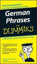 German Phrases for Dummies by Paulina Christensen, Anne Fox