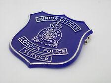 London Police Service Junior Officer Vintage Lapel Pin
