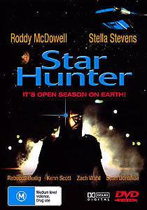 Star Hunter DVD Roddy McDowell SCI-FI Movie 1995 RARE B-GRADE