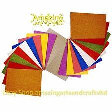 20 Paillettes en Mousse Sheets A4 Assorted Colours Pack