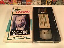 * Aunque La Hormona Se Vista De Seda Mexican Comedy VHS 1971 Mexi Spanish 70's