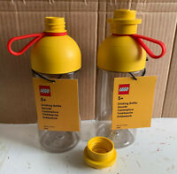 LEGO 4042 Drinking bottle 500 ml Yellow w/ lid (1x) - New - Rare - Retired