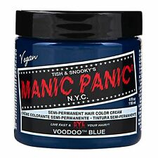 MANIC PANIC Classic Cream Voodoo™ Blue  Semi - Permanent 4 oz Vegan Hair Dye.