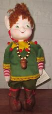 Rare Limited Edition Mary Engelbreit True Friends Musical WILL THE ELF Doll
