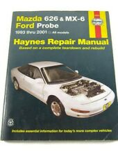 Haynes 1993-2001 Mazda 626 MX-6 Ford Probe Repair Manual 61042