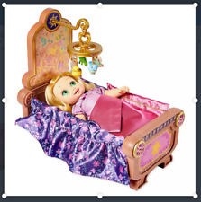 Disney Rapunzel Baby Doll and Crib Gift Set – Disney Animators' Collection - New