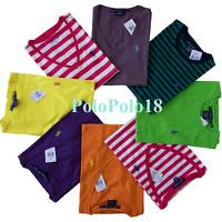 New Ralph Lauren Women Pony Pima Short Sleeve T Shirt Polo